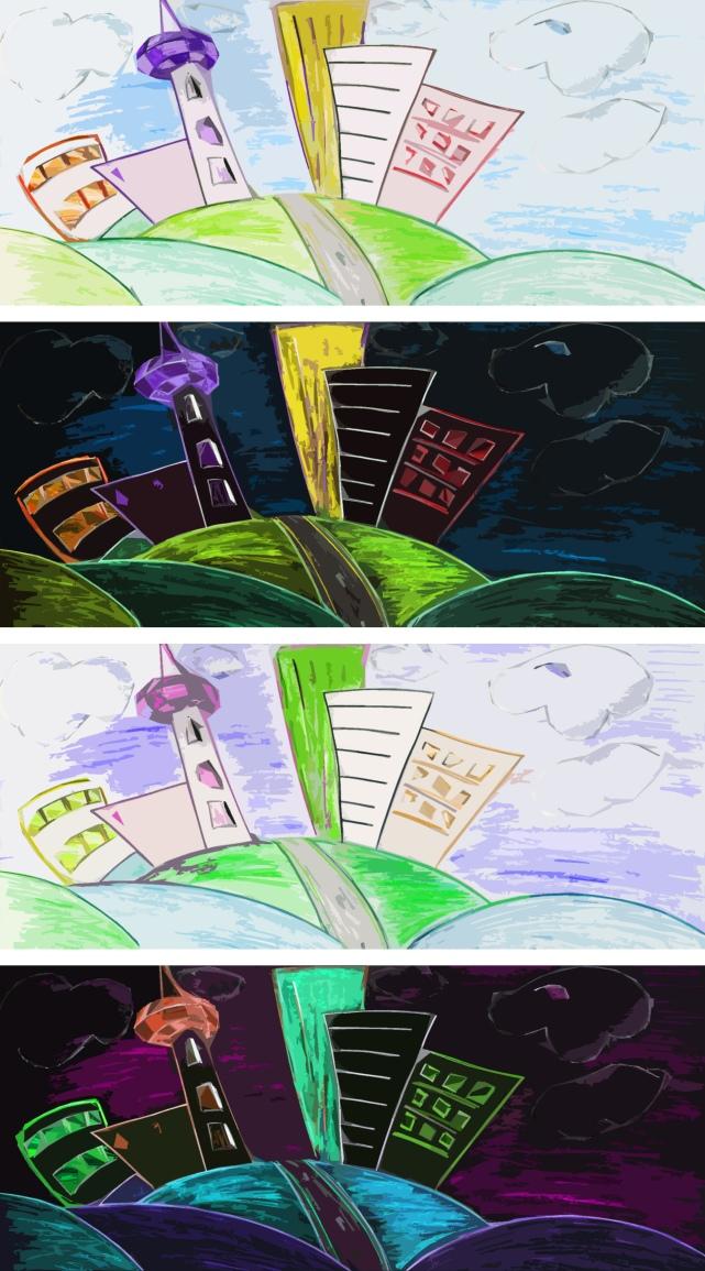 cartoony landscape2